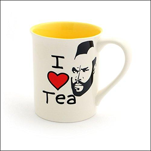 I Heart Mr T Tea Mug