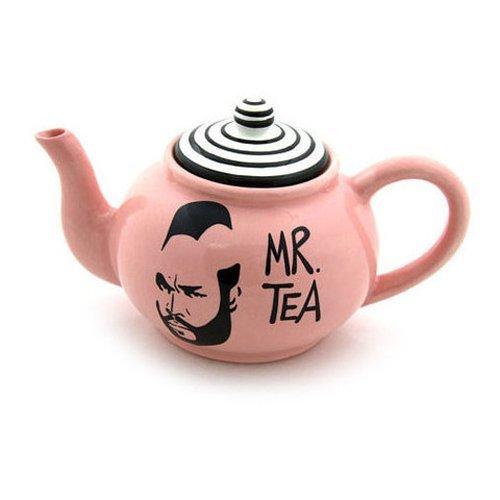 Pink Mr T Teapot
