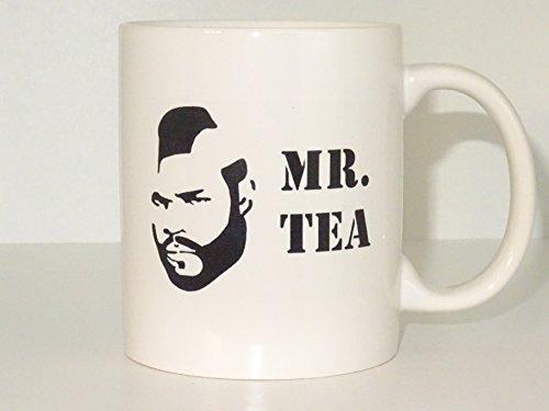 mr tea Mug Coffee Cup Funny Mug tea Birthday Gift for Him Unique Caffeine Addict Cute