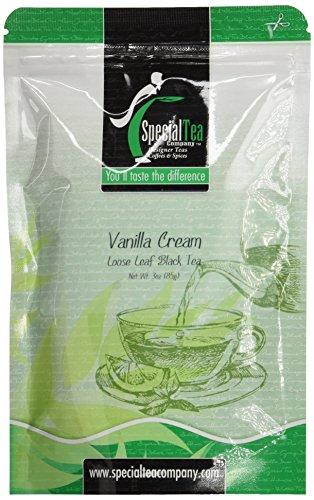 Special Tea Vanilla Cream Loose Leaf Black Tea 3 Ounce
