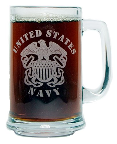 US Navy 15oz Beer Mug with Handle