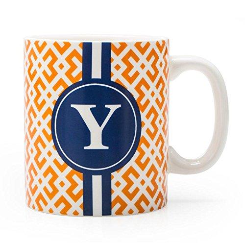 BIA Cordon Bleu Monogram Coffee Mug YOrange