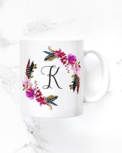 Personalized Monogram Coffee Mug - Bridesmaid Mug - Custom Mug - Premium Ceramic Mug - Wedding Party Gift Ideas - 11oz15oz mug- M0318