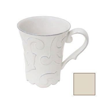 Casafina Arabesque Cream Coffee Mug