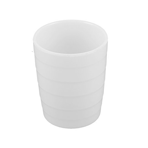 DealMux Plastic Home Restaurant Cylinder Shaped Water Drinking Cup