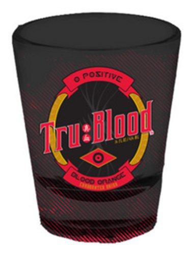 True Blood - Black Shot Glass