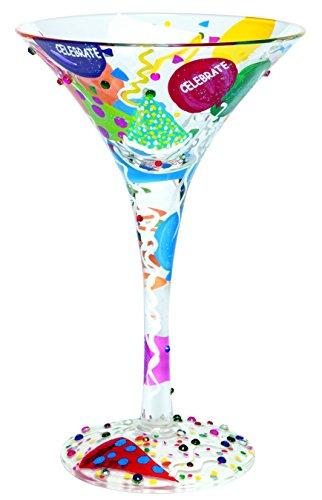 Lolita Martini Glasses Celebrate
