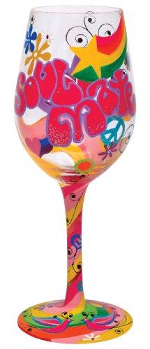 Lolita Wine Glass Soul Mate Valentine Retired - Wine Martini New Love GLS11-5516G