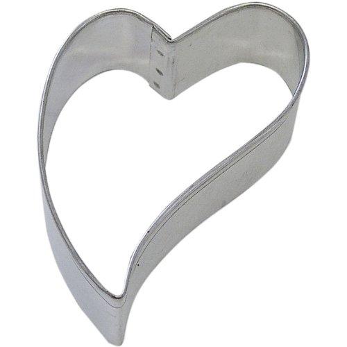 Heart Folk Primitive Tin Cookie Cutter 3 B1360x