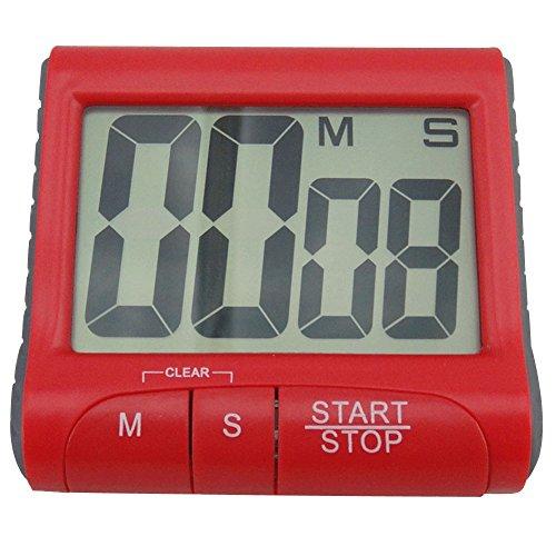 RoseSummer Large LCD Digital Kitchen Timer Count-Down Up Clock Loud Alarm