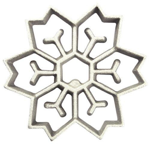 Honey-Can-Do 7131 2-In-1 Snowflake Rosette Iron