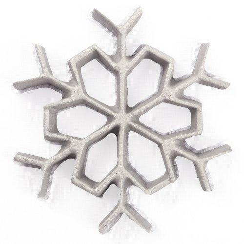 Kitchen Supply 7081 Rosette Iron Snowflake by Kitchen Supply