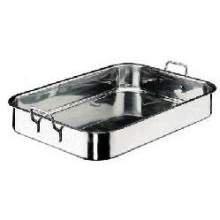World Cuisine Paderno Stainless Steel Roasting Pan 23 58 inch Length -- 1 each