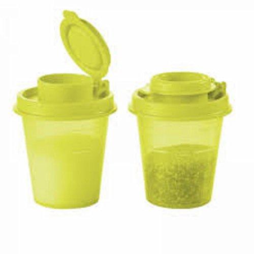 Tupperware Travel Saltnpepper Mini Travel Shakers Midgets NEW