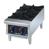 Star 602HF Star-Max Gas 2-Burner 12 Hot Plate