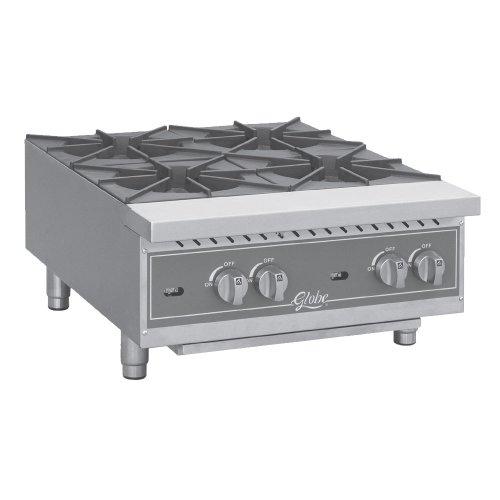 Table Top king GHP12G 12 Countertop Gas Hot Plate - 44000 BTU