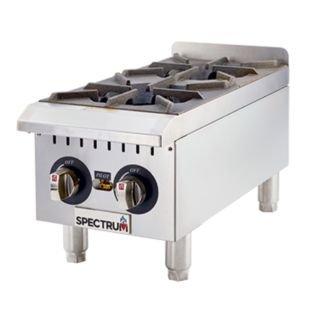 Winco GHP-2 Spectrum Hot Plate gas countertop 12