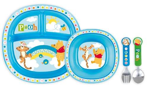 Munchkin Winnie Boy Dinner Set for Toddlers