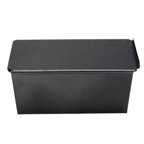 Bakeware - TOOGOOR Rectangle Bakeware Nonstick Box Large Loaf Tin Kitchen Pastry Bread Cake Baking Black
