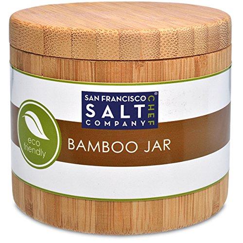 Bamboo Jar (small 6oz Salt Jar)