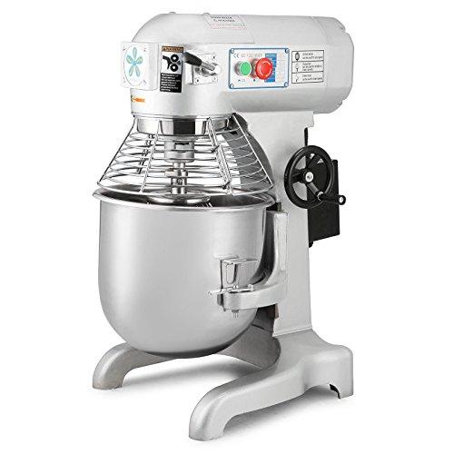 Happybuy Commercial Food Mixer 750W Dough Mixer Maker 3 Speeds Adjustable Commercial Mixer Grinder 94165386 RPM Stand Mixer 20 qt