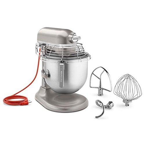 KitchenAid KSMC895NP 8-Quart Commercial Mixer with Bowl Guard Nickel Pearl