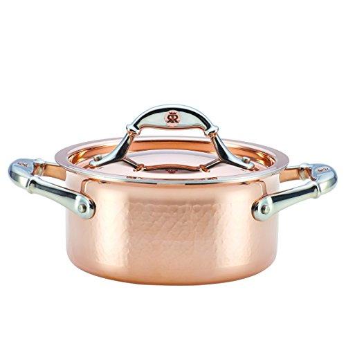 Ruffoni Symphonia Cupra 15-Quart Covered Casserole Copper