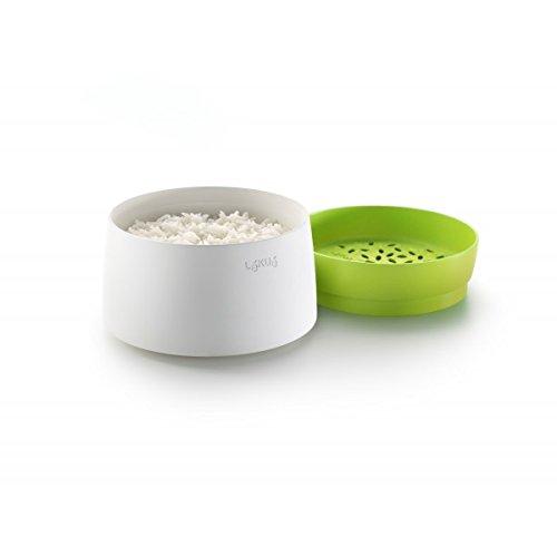 Lekue Microwave Rice and Grain Cooker Model  0200700V06M500 Green