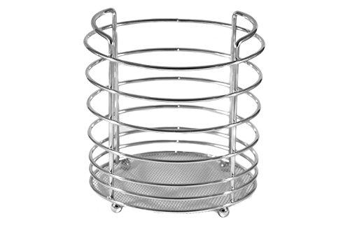 Kitchen Utensil Holder - Utensil Organizer - Stainless Steel Cookware Cutlery Caddy