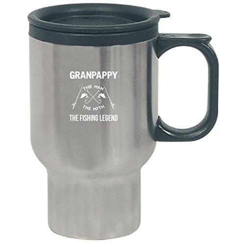 Granpappy The Man Myth The Fishing Legend Fathers Day - Travel Mug