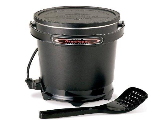Presto 05411 GranPappy Electric Deep Fryer 2 Black