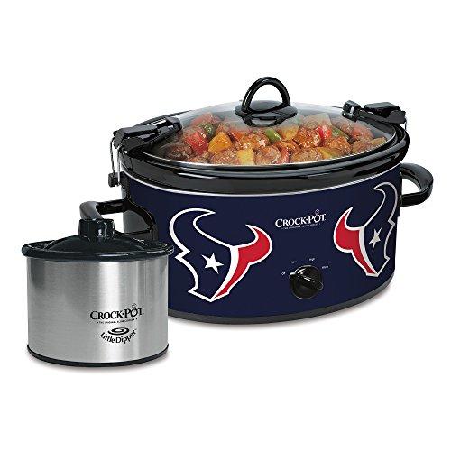 Crock-Pot Houston Texans NFL 6-Quart Cook Carry Slow Cooker