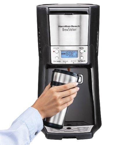 Hamilton Beach 12-cup Coffee Maker, Programmable Brewstation Summit Dispensing Coffee Machine (48464)