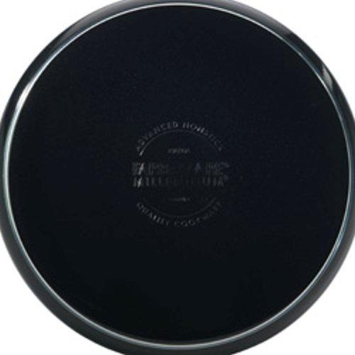 Farberware Millennium Colors Nonstick Aluminum 12-Piece Cookware Set Black
