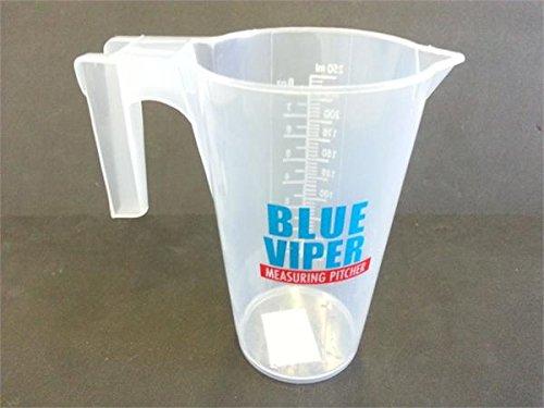 Wabash Valley Farms BV1200 8 oz Blue Viper Measuring Pitcher