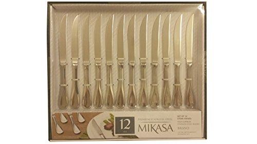 Mikasa Bravo Premium stainless steel steak knife set of 12