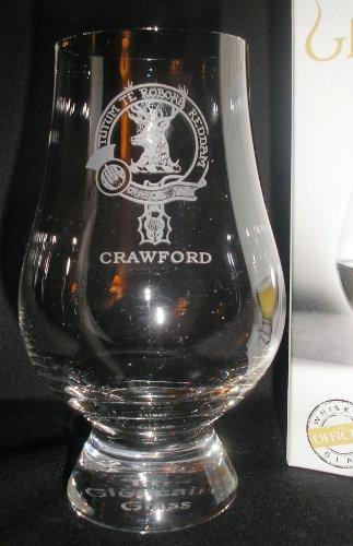 Clan Crawford Glencairn Single Malt Scotch Whisky Tasting Glass