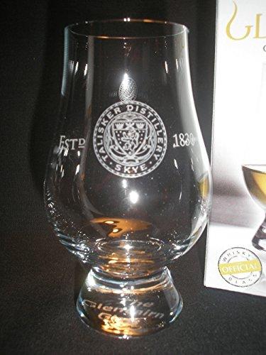 Talisker Distillery Logo Glencairn Single Malt Scotch Whisky Tasting Glass