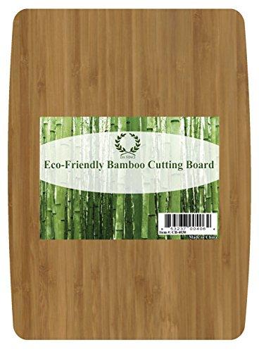 Da Vinci Natural Bamboo Cutting Board Large 157 x 118 Inch 34 Inch Thick