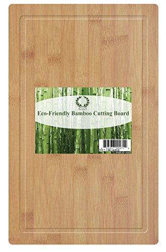 Da Vinci Natural Bamboo Groove Cutting Board Extra Large 18 x 118 Inch Wood Cutting Board
