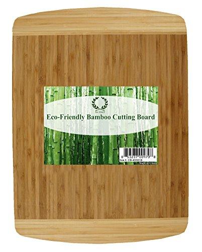 Da Vinci Natural Bamboo Large Wood Cutting Board - 12 x 16 Inch 1 Board