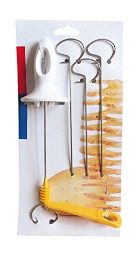 BleuMoo Tornado Spiral Potato Cutter Slicer