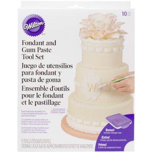 Wilton 1907-1350 Fondant Gum Paste Tool Set
