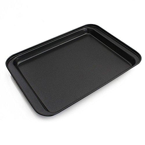ZPFAMILY Nonstick Rectangular Bakeware Cake Pan Big Cookie Sheet Set Stainless Steel Commercial Pan Serving TrayBaking Pan Cake Maker Cookie Sheet PanOven Baking Cookie Baking Molds 12 x 85 Inch