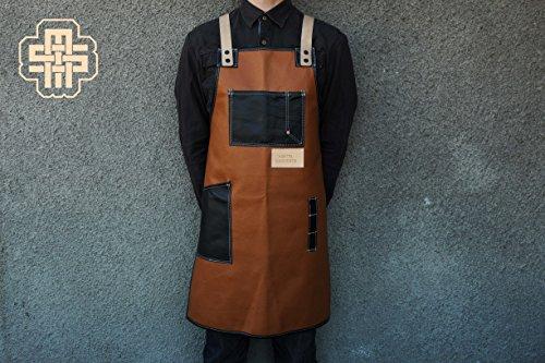 Barista Apron Custom Apron Leather Apron Bartender Apron Barber Apron Hair Stylist Apron Chef Apron Barbecue Apron