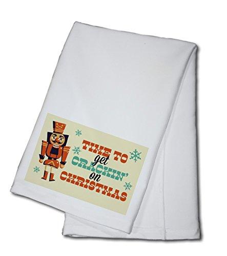 Nutcracker - Retro Christmas 100 Cotton Kitchen Towel