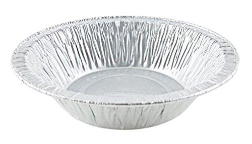 10 Pack 4-38 Aluminum Foil Tart Pan - Disposable Mini-Pie Plate Baking Tins