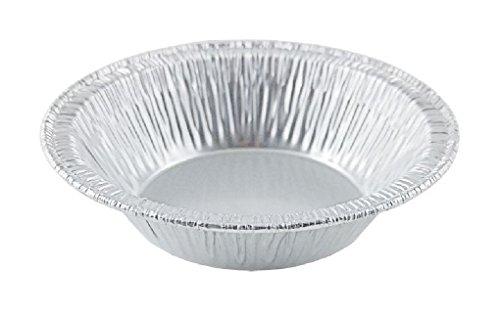 A90 3 38 Aluminum Foil Tart Pan 125PK Disposable Mini Pie Tin Plate