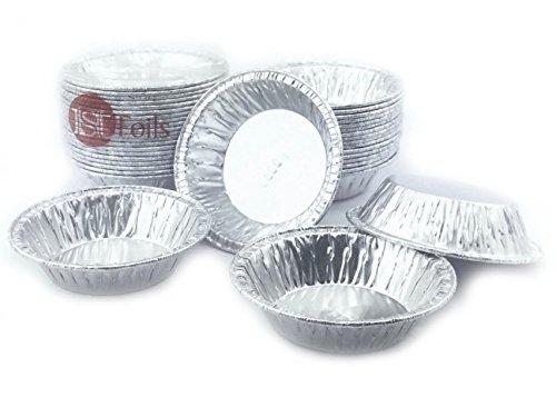 Aluminum Foil Mini Pie Pans 2-1516 Very Small Pans for PieTart Pans 20 Pcs