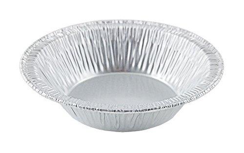 Silver Aluminum Foil Tart Pan 3 Pack of 100 Disposable Mini Pie Tin